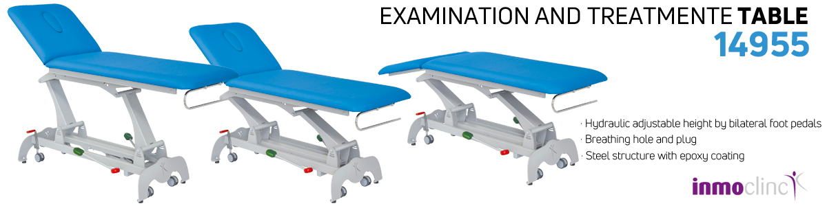 Examination and treatment table - 14955
