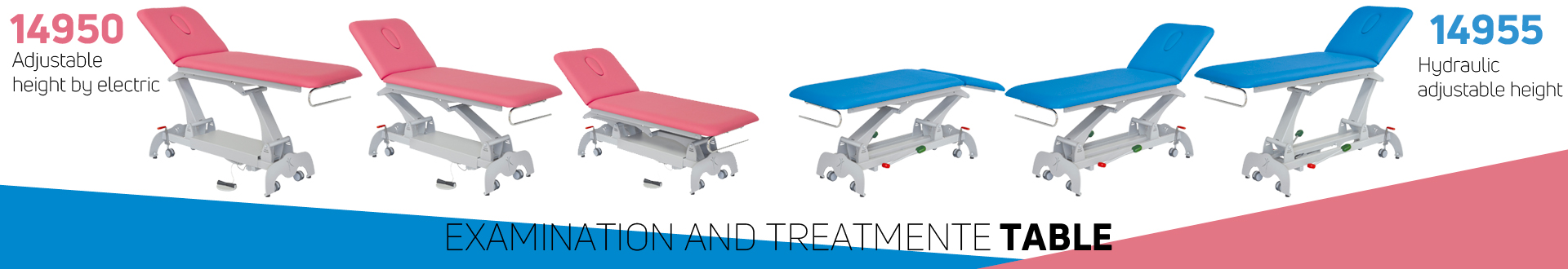 Examination and treatment table - Inmoclinc