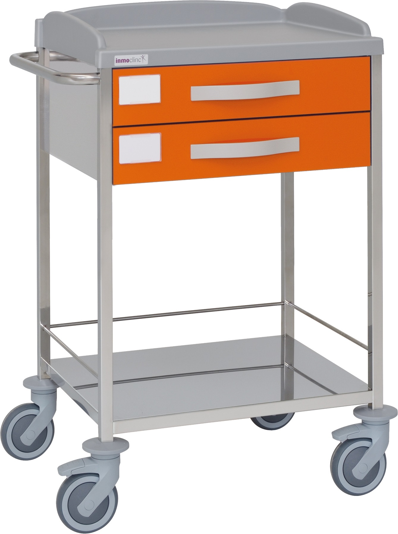 stainless steel shelves hospital trolley stainless steel structure inmoclinc 10510 10500