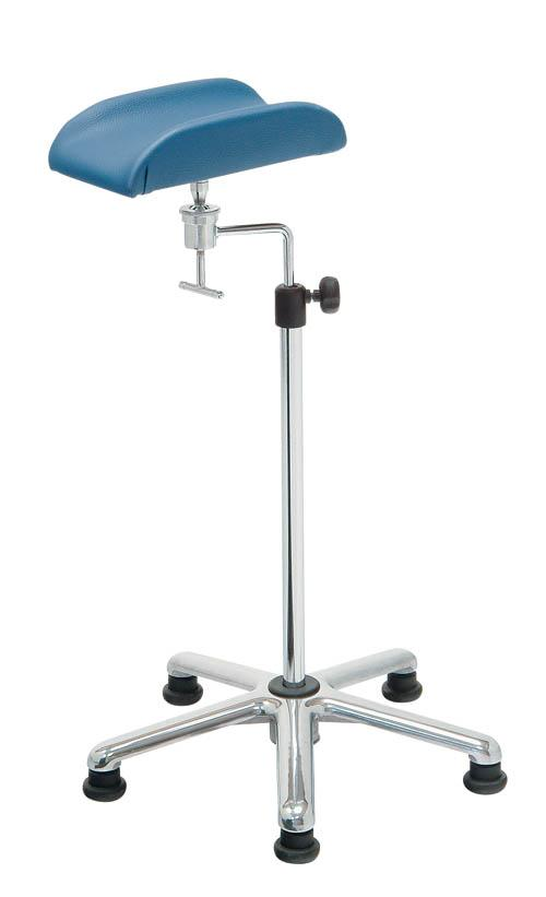 Phlebotomy Arm Stand Support Chromed Steel Structure